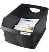 Papierkorb 1849 LOGO Drive 25 Liter schwarz
