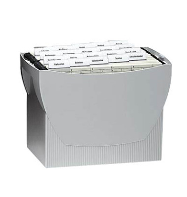 Hängemappenbox Swing 1900 grau bis 20 Mappen leer