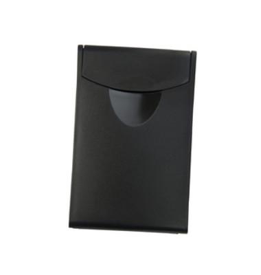 Visitenkartenbox für 20 Karten schwarz 90x54x4mm Cognito