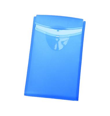 Visitenkartenbox für 20 Karten blau 90x54x4mm Cognito