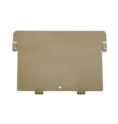 Stützplatte für Karteikasten A5-quer Metall