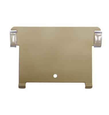 Stützplatte  A7 quer  Metall      FARBE: Braun