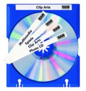 Mäx-Tray zur CD-Aufbewahrung blau beschreibbar abheftb.