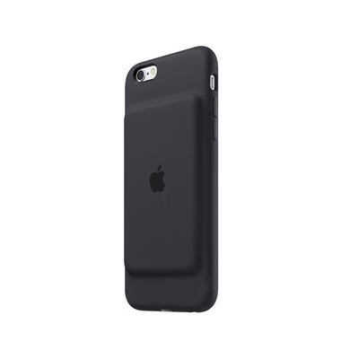 Smart Battery Case iPhone 6/6s anthraz.