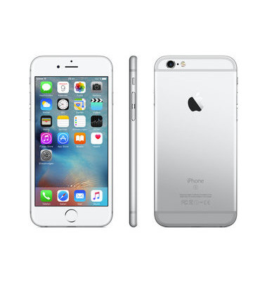 Smartphone iPhone 6s silber 16GB