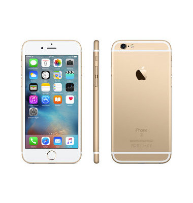 Smartphone iPhone 6s gold 128GB