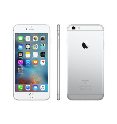 Smartphone iPhone 6s Plus silber 128GB