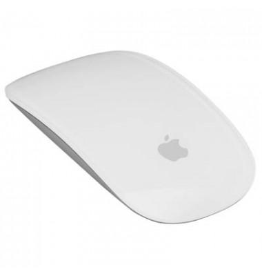 Touch-Mouse Magic Mouse 2 MLA02Z/A, Full-Touch-Oberfläche, kabellos, Bluetooth, für fast jeden Untergrund, Laser, weiß