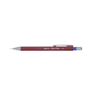 Druckbleistift Geo Pen 85027 weinrot 0,7mm