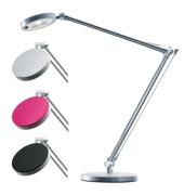 Schreibtischlampe 4you mit Fuß silber