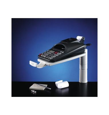 Telefonschwenkarm Platte 18,5 x 26cm lichtgrau