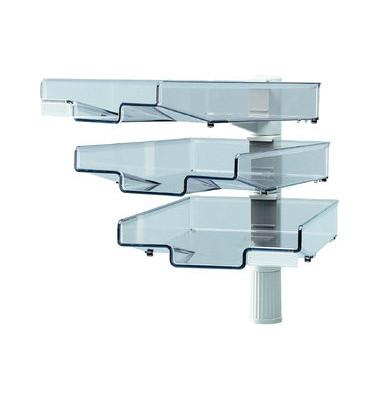 Schwenkflügler CopySwinger mit 3 Schalen C4 lichtgrau
