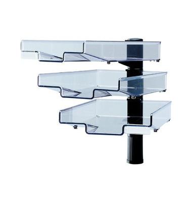 Schwenkflügler CopySwinger mit 3 Schalen C4 schwarz/farblos