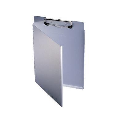 Klemmbrettmappe 3391-23 Portfolio A4 silber 230x325mm Aluminium