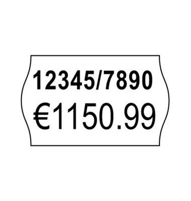 Etiketten ablösbar f.Handausz. weiß 16x26mm 10Rollen