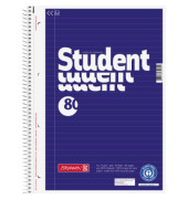 Collegeblock Student 80 10-67 831 01, A4 liniert, 70g 80 Blatt, 6-fach-Lochung