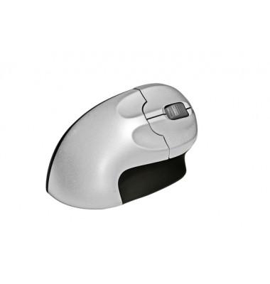 ergonomische vertikale Maus für Rechtshänder, 2 Tasten u. Scrollrad