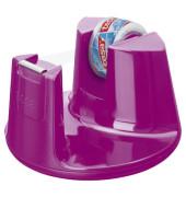 film Tischabroller Compact pink, inkl. 1 Rolle film kristall-klar