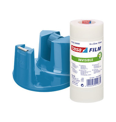 Tischabroller EasyCut Compact blau inkl.6Ro