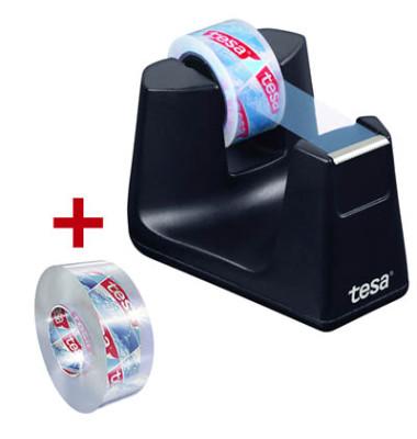 Tischabroller Easy Cut SMART schwarz bis 19mmx33m inkl.1Ro