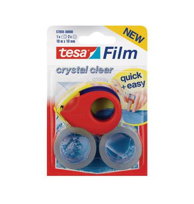 Miniabroller kristallklar m.2 Rollen
