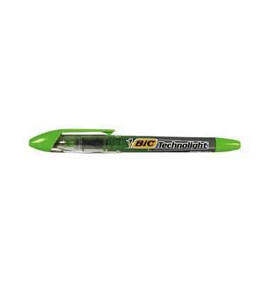 Textmarker Technolight grün 1,5-3,5mm Keilspitze