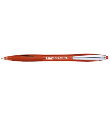 Kugelschreiber Atlantis Premium rot Mine 0,4mm Schreibfarbe rot