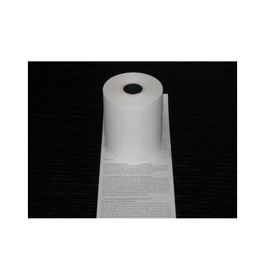 Thermorolle A05044, 57mm x 18m, Kern-Ø 12,3mm, SEPA-Lastschrifttext, 1 Rolle