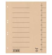 Trennblätter 97300 A4 chamois 250g 100 Blatt Recycling