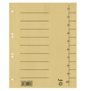 Trennblätter 97300 A4 gelb 250g 100 Blatt Recycling