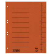 Trennblätter 97300 A4 orange 250g 100 Blatt Recycling
