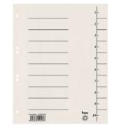 Trennblätter 97300 A4 weiß 250g 100 Blatt Recycling