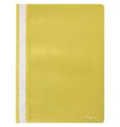 Schnellhefter 281421 A4 gelb PP Kunststoff kaufmännische Heftung bis 200 Blatt