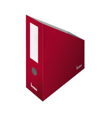 Stehsammler 312400RT 100x260x320mm A4+ Pappe rot