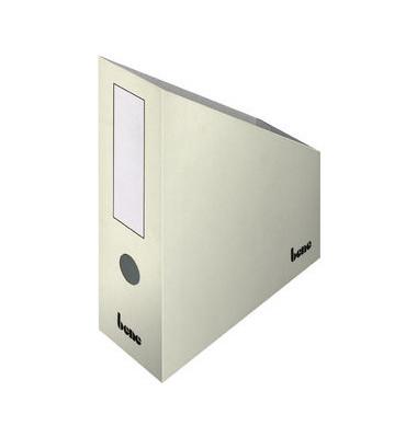 Stehsammler 312400WS 100x260x320mm A4+ Pappe weiß