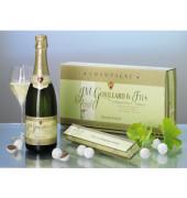 Geschenk Champagner&Trüffel 380x220x125