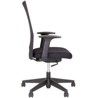Bürodrehstuhl 5000 Rückenlehne mit Netzbespannung in schwarz