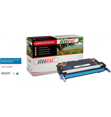 Toner Cartridge cyan für HP Color LaserJet 3600,3800