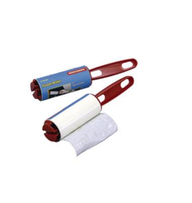 Fusselroller mit Klebeband L 10cm 12Folien