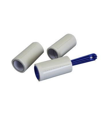 Fusselroller-Set 3-teilig L 20cm +2Rollen