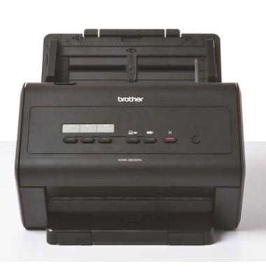 Duplex-Dokumentenscanner ADS-3000N DIN A4, Netzwerk, incl. UHG