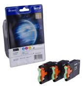 Druckerpatrone LC-1280XL cyan / magenta / gelb 4x ca 1200 Seiten Multipack