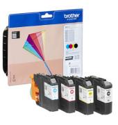 Druckerpatrone LC-223 schwarz / cyan / magenta / gelb 4x ca 550 Seiten Multipack
