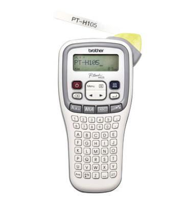 Beschriftungsgerät P-Touch H105 weiß für TZ-Bänder 3,5-12mm