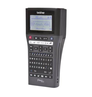 Beschriftungsgerät P-touchH500 schwarz f.TZ-Bänder 3,5-24mm