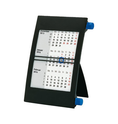 Dreimonats-Tischkalender  JK2BL 3Monate/1Seite 11x18cm 2022