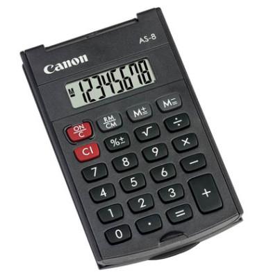 Taschenrechner im Arc-Design mit achtstelligem Display
