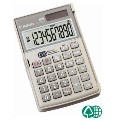 Umweltfreundlicher Taschenrechner mit 10-stelligem Display