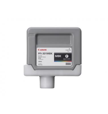 Druckerpatrone PFI-301MBK, matt schwarz für iPF8000,iPF9000,iPF8000S,iPF9000S
