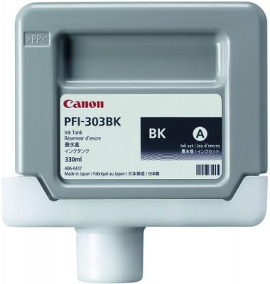 Druckerpatrone PFI-303BK, schwarz für IPF 810,IPF 820